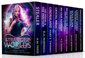 Stranger Worlds Boxed Set A Young Adult Urban Fantasy Collection