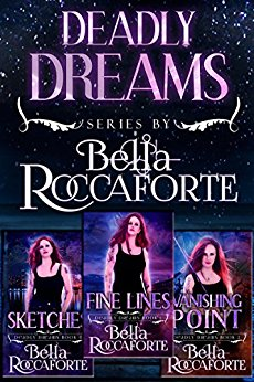 Deadly Dreams Box Set (Books 0, 1, & 2) Sketches (Book 0), Fine Lines (Book 1) & Vanishing Point (Book 2)