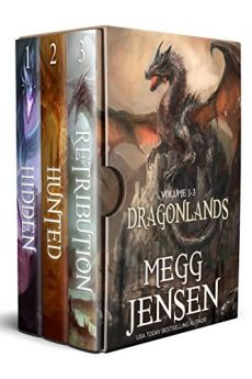 Dragonlands Box Set, Books 1 - 3 Hidden, Hunted, and Retribution