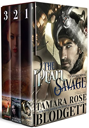 The Savage Series Boxed Set (Books 1-3) New Adult Dark Paranormal Sci-fi Romance